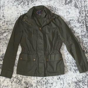 Love Tree size medium hunter green cargo jacket